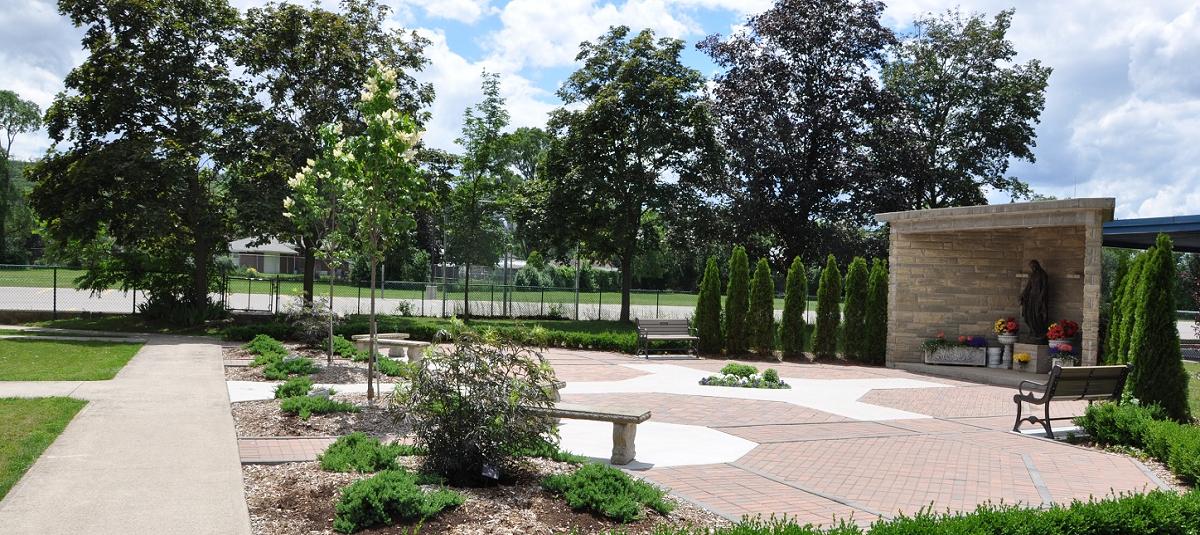 Marian Prayer Garden