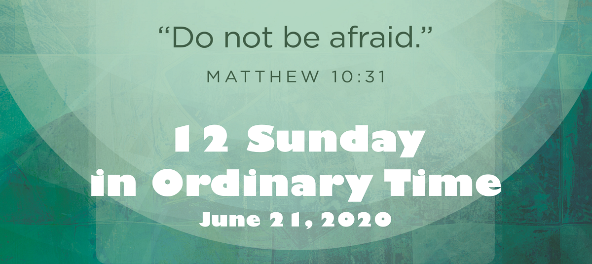 Sunday Homily, June 21, 2020