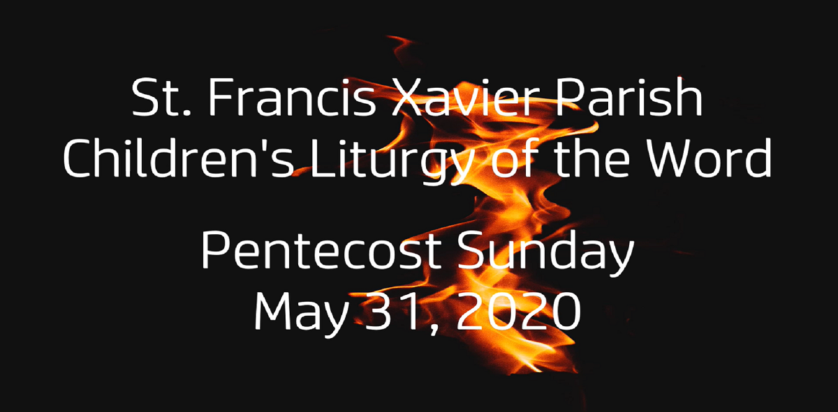 Children's Liturgy Resources for May 31